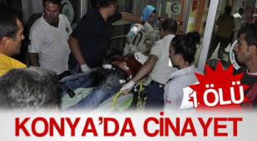 Konya'da Yaşanan Cinayet